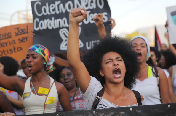 Activists And Community Members Demonstrate Against Police Killings
