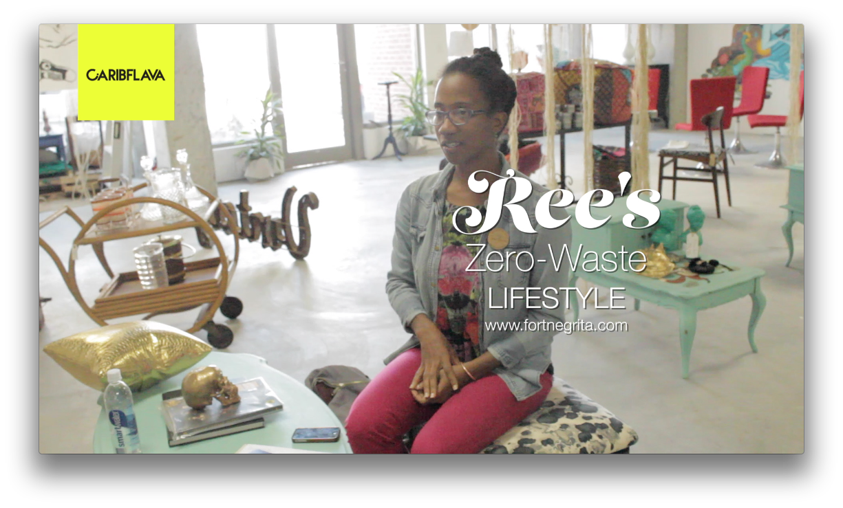 Zero-waste lifestyle blogger