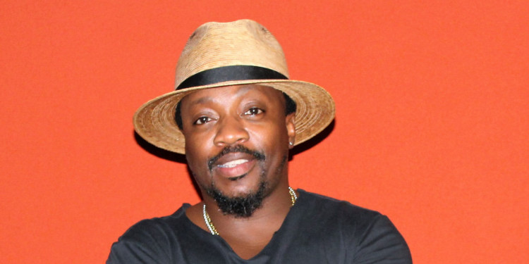 Anthony Hamilton chilling at the Renaissance Hotel – picture credit Shadiah Elhage